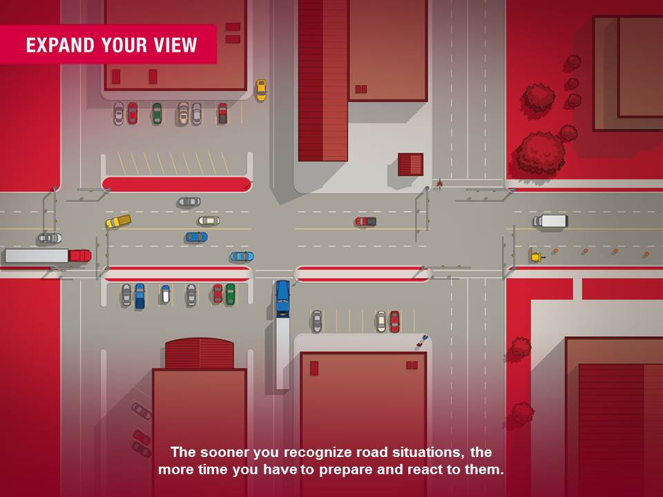 Expand Your View - Recognize Road Situations