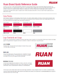 Ruan Quick Reference Guide