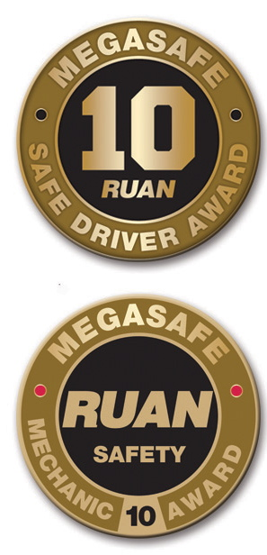 Ruan Safety Awards